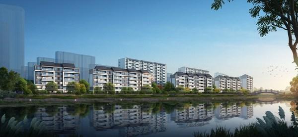 """Dongyuan Suzhou """"Moon Impression"""" won """"Global Best Lake Habitation Award""""."""