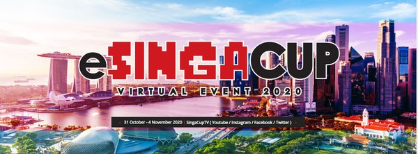Official Poster of eSingaCup 2020