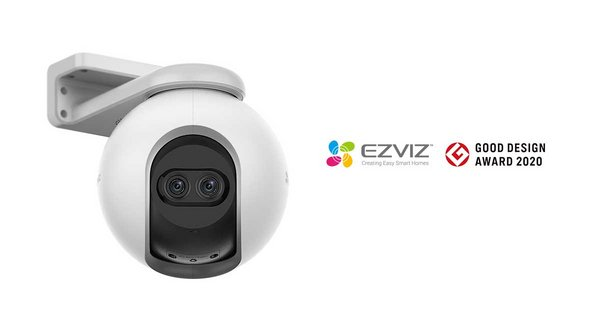 EZVIZ C8PF Dual-lens Outdoor Pan-Tilt-Zoom Camera