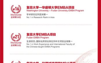 FDSM's Four Major Programs Rank Among FT's Global Top 40