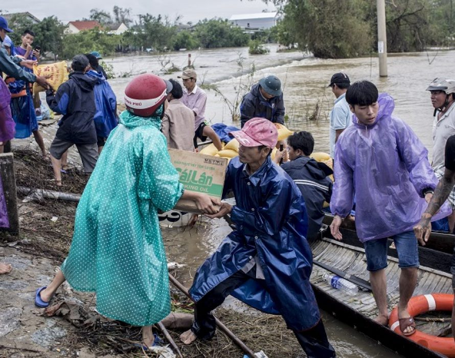 Swift action saves more than 100 lives in raging waters off Miri