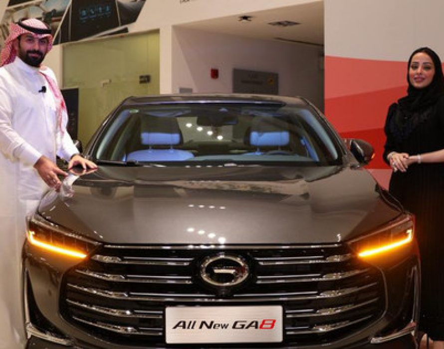 GAC MOTOR Launches All-New Luxury Flagship GA8 in the Kingdom of Saudi Arabia