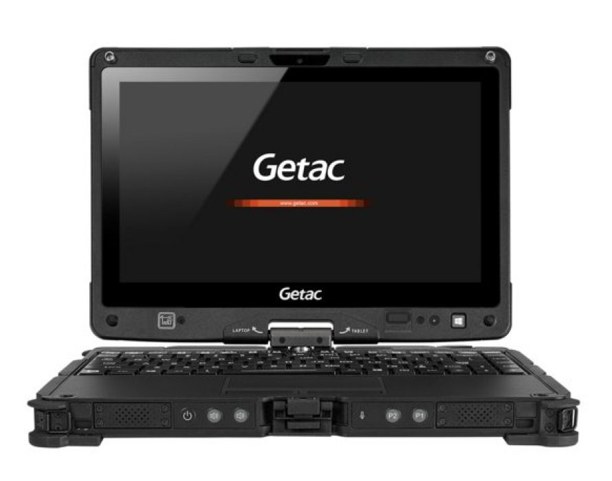 Getac's next generation V110 laptop delivers best-in-class functionality and rugged reliability for field professionals