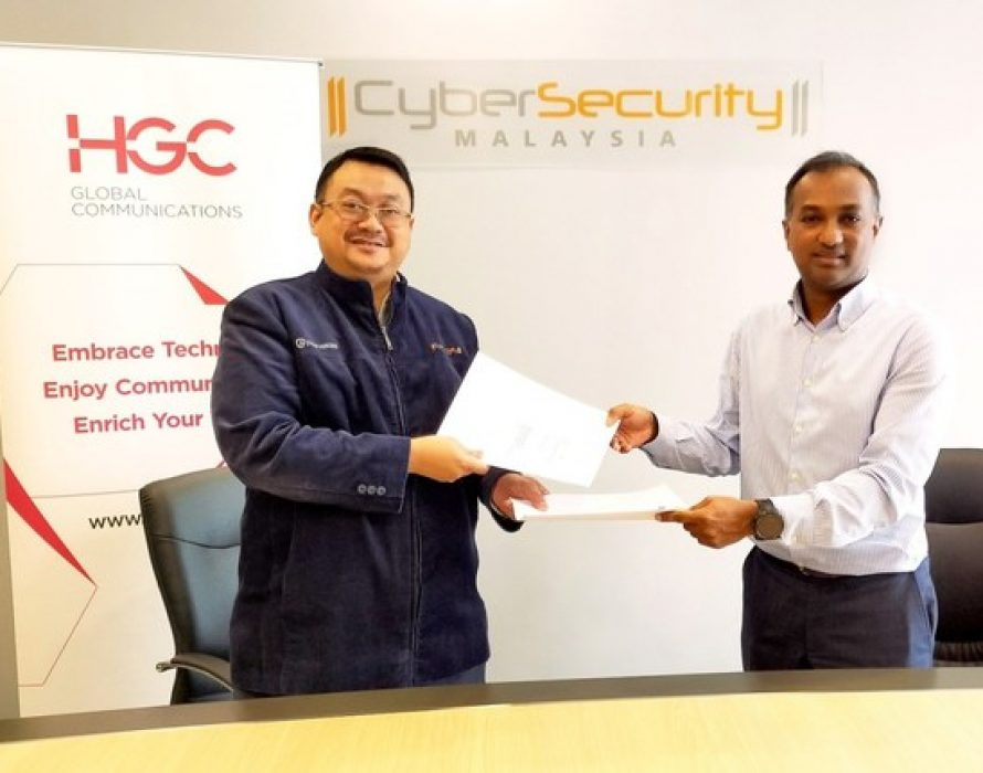 HGC signs MoU with CyberSecurity Malaysia cementing national telecoms cybersecurity