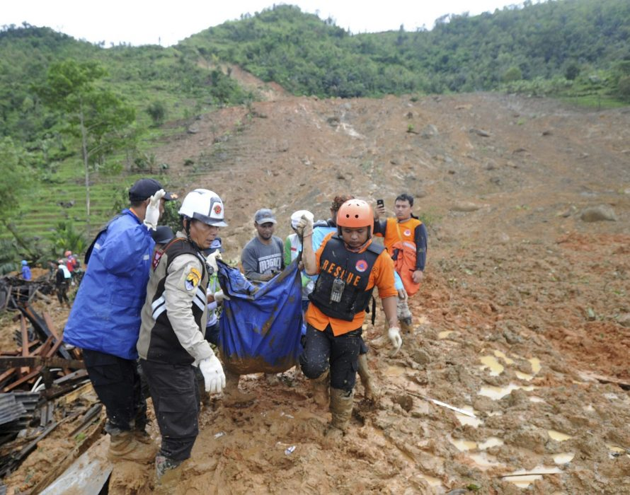 11 killed as landslides hit coal mine in Indonesia's South Sumatra