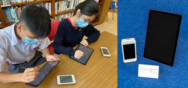 Beneficiaries at Chinese Y.M.C.A. College are already making use of brand-new tablets, 4.5G unlimited data SIMs and Wi-Fi dongles donated by HKBN Group, HKBN Talent CSI Fund, Kerry Group, Peterson Group Charity Foundation and Wu Jieh Yee Charitable Foundation for their online learning.