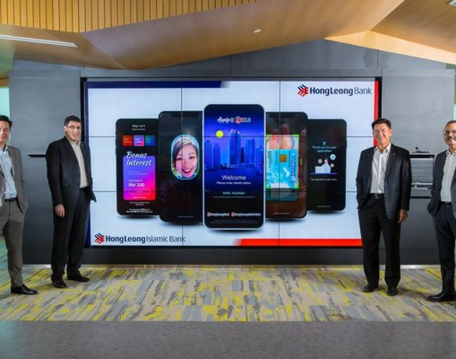 Hong Leong Bank Becomes First Bank in Malaysia to Offer a Fully Digital Account Onboarding Experience