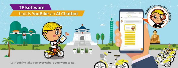 TPIsoftware builds YouBike AI Customer Service Chatbot