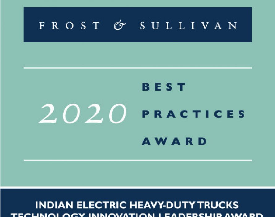 Infraprime Logistics Lauded by Frost & Sullivan for Introducing India's First Electric heavy-duty Truck, the Rhino 5536