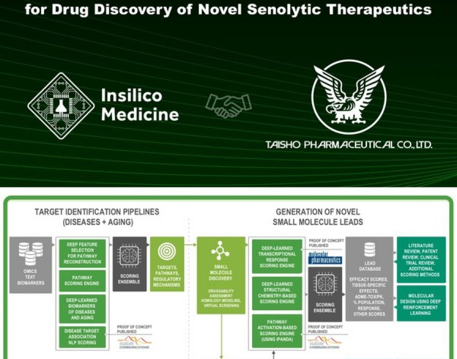 Insilico partners with Taisho on end-to-end AI-powered senolytic drug discovery