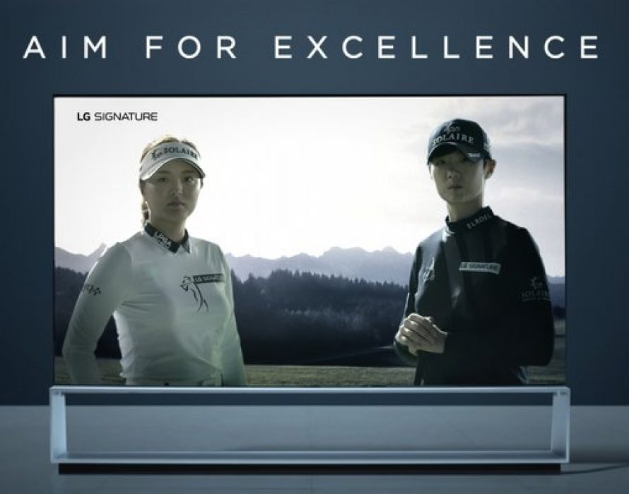 LG SIGNATURE Celebrates the Artistry and Technique of Golf's Finest in Master Story Series