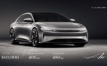 Lucid Motors Expands Luxury EV Lineup with Its Most Attainable Lucid Air Model Yet, Featuring 406 Miles of Range and 480 horsepower from just $69,900