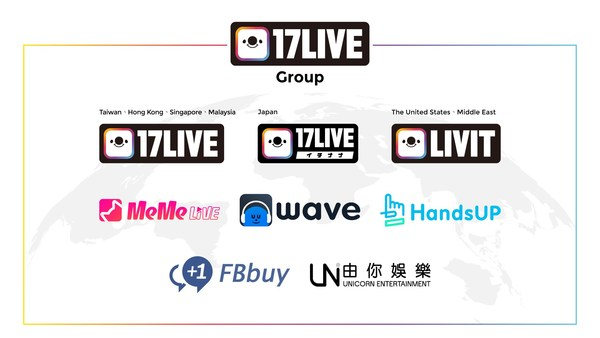 M17 Entertainment Limited changes its name to 17LIVE Inc. with new logo.