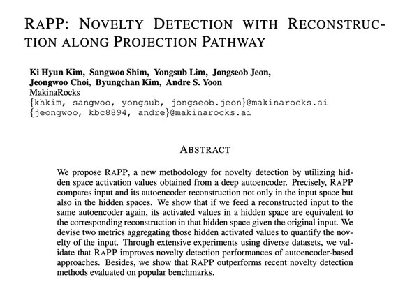 Cover of RaPP paper selected by ICLR 2020