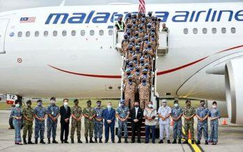 Peacekeeping mission: Malbatt 850-8 leaves from Lebanon