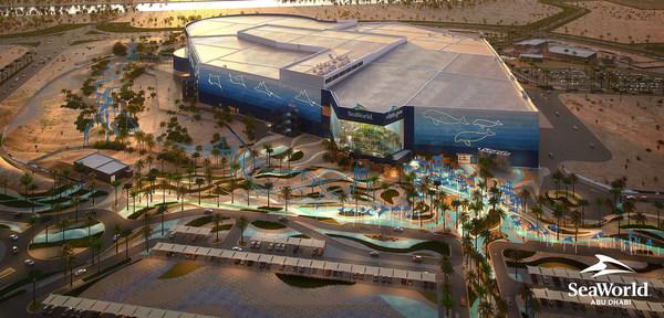 SeaWorld Abu Dhabi Aerial Render