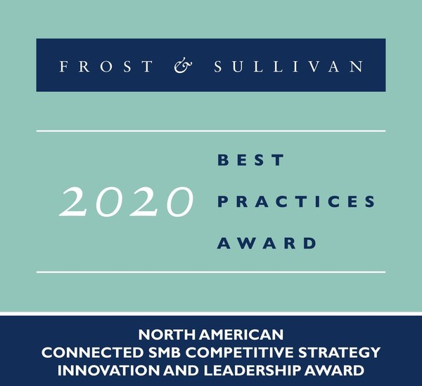 2020 North American Connected SMB Competitive Strategy Innovation and Leadership Award