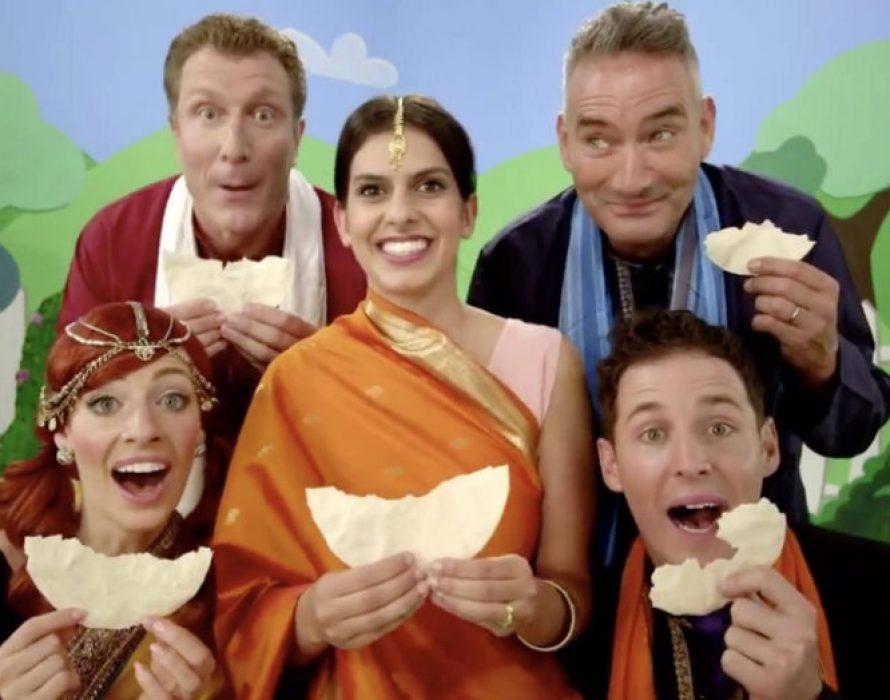 Bizarre song on papadum goes viral