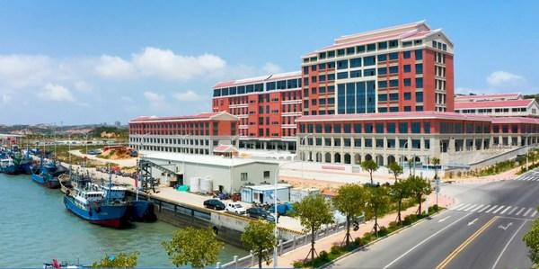 Main entrance of Pingtan International Marine Industry and Logistics Park