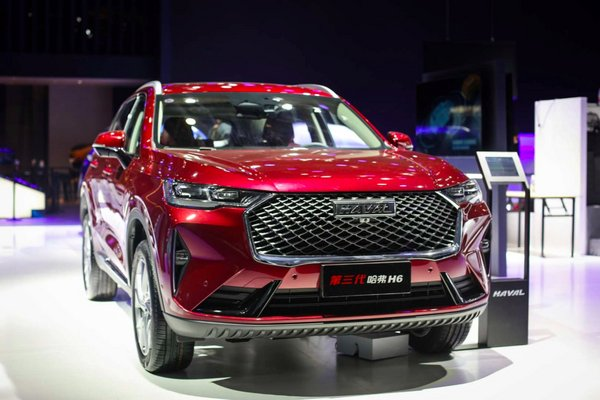 GWM Showcases 3rd Gen H6 SUV at Auto China 2020.