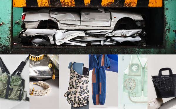 Hyundai Restyle 2020, Upcycling fashion collection from discarded car materials