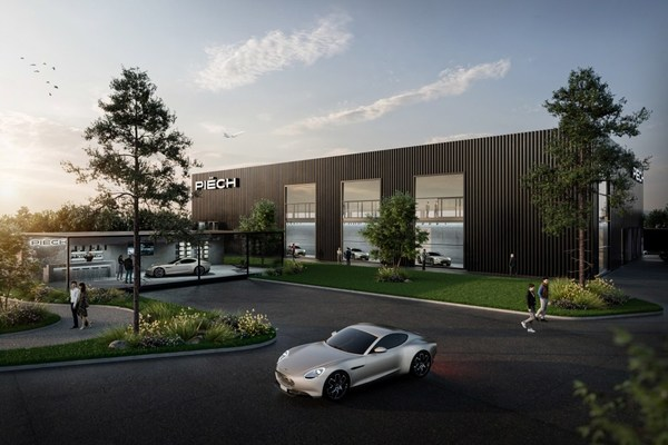 Visualization of the Piëch Automotive Engineering Campus