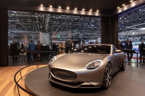 Piëch Automotive launch event at Geneva International Motor Show 2019