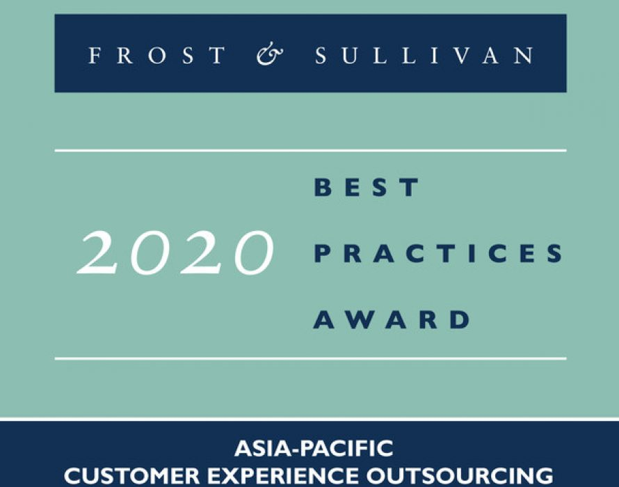 Teleperformance Wins Frost & Sullivan 2020 Asia-Pacific Srvices Provider of the Year Award