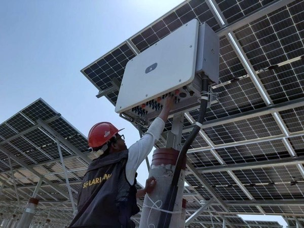 The largest solar power plant in Bangladesh connected to the grid with Huawei PV Solution