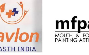The Mouth and Foot Painting Artists Association (MFPA) share a special message on Global Handwashing Day