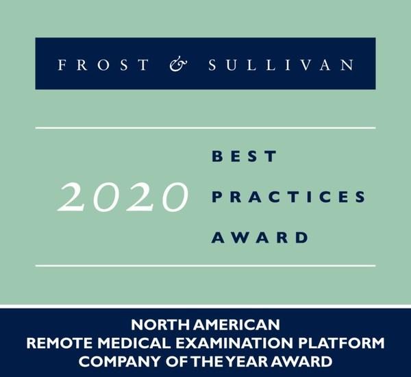 2020 North American Remote Medical Examination Platform Company of the Year Award