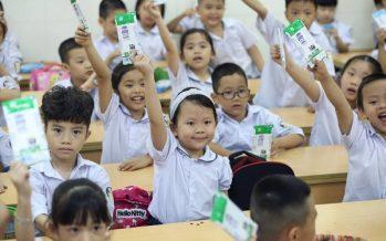 Vinamilk Celebrates 14 Years Benefiting Vietnamese Children with School Milk Program