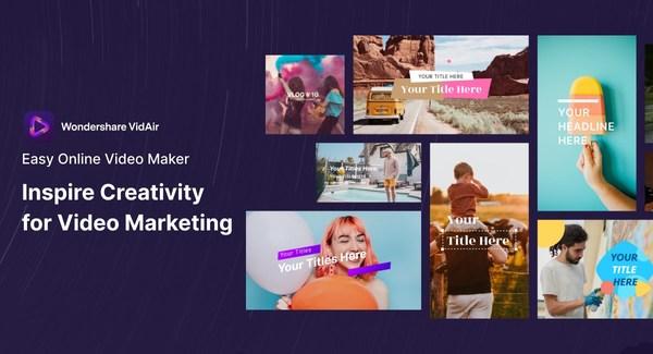 Wondershare VidAir: Better Video Marketing for Business