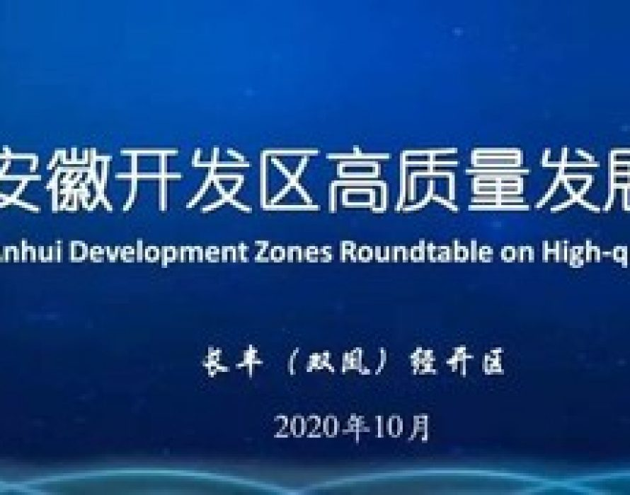 Xinhua Silk Road: High quality, openness and cooperation highlighted for E.China Anhui's future dev. at roundtable