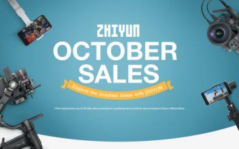 ZHIYUN Unveils Best Gimbal Discounts on 2020 Amazon Prime Day