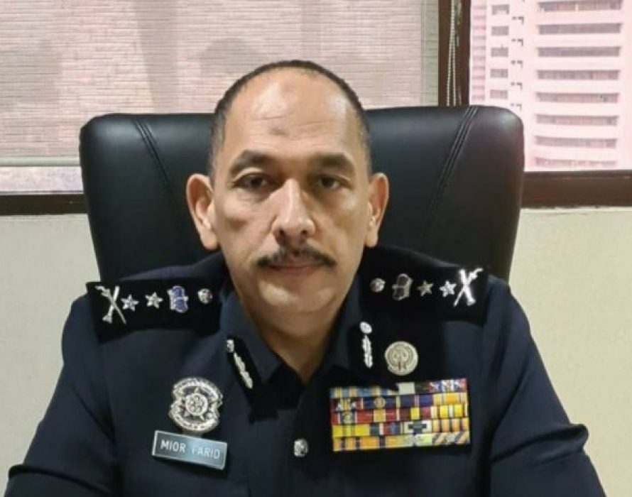 Mior Faridalathrash is new Perak police chief