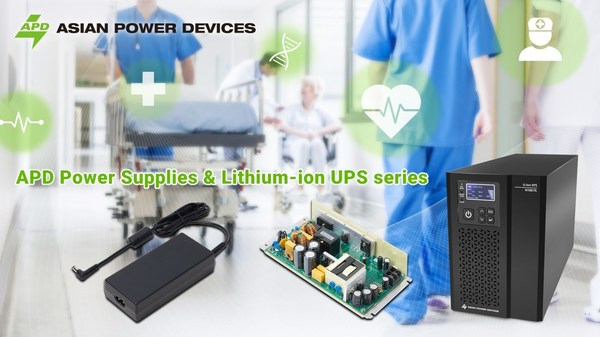 APD Medical Power Supply & Lithium-ion UPS Solutions -- Built for the challenges of today