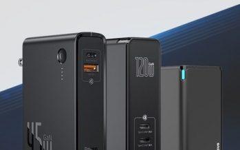 Baseus Announces New Gallium Nitride (GaN) Series 120W Charging Heads