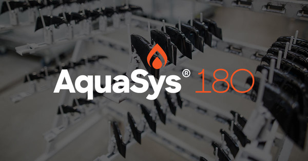 AquaSys® 180 Access the world's first and only water-soluble 3D printing support material that's compatible with PEEK, PEKK, PEI, and PPSU