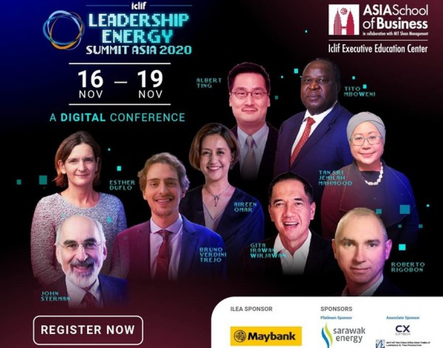 Calling All Game Changers and Captains of Tomorrow: Registrations Open for Leadership Energy Summit Asia 2020