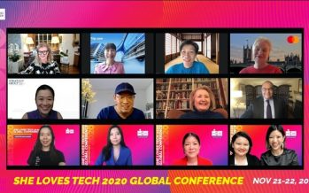 Celebrating 2020 She Loves Tech's Global Startup Competition, Conference and the 25th Anniversary of World Women Conference