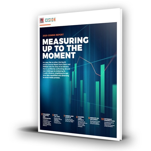 Cision & PRWeek's 2020 Comms Report