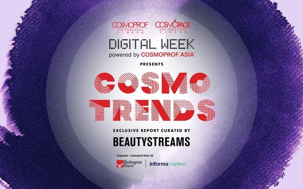 The CosmoTrends report highlights 21 products selected by trend agency BEAUTYSTREAMS.