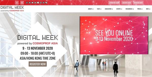 Cosmoprof Asia Digital Week Opens Today!