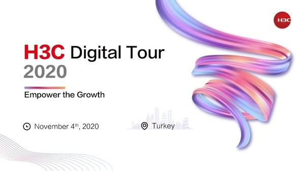 H3C Digital Tour in Turkey was launched on November 4 to promote engagement and empower the growth together with the clients and ecosystem partners in Turkey.