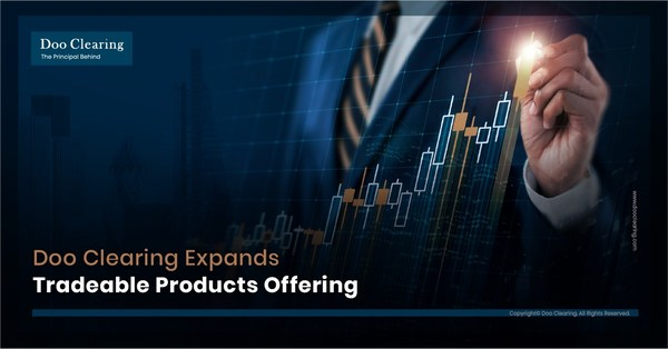 Doo Clearing continues its rapid expansion in the trading market with the addition of Single Stock CFDs in its tradeable products.