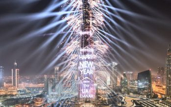 Downtown Dubai prepares for a New Year's Eve spectacle to remember