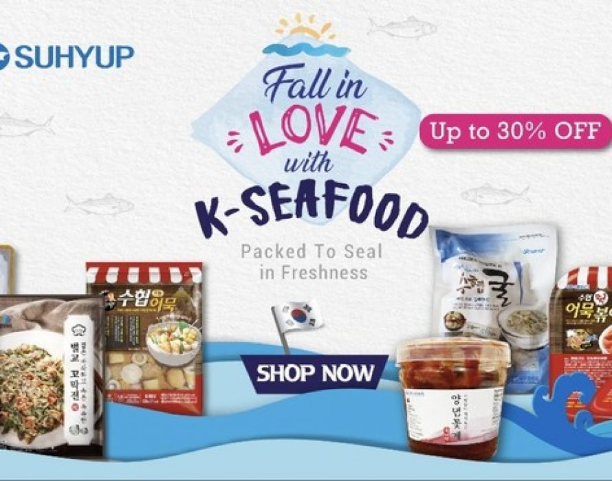 Fall in Love with K-Seafood