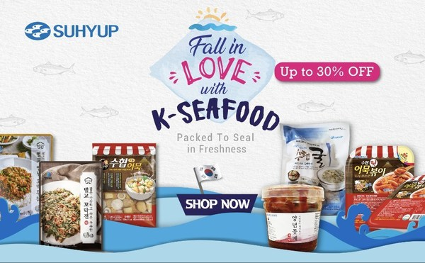 Fall in Love with K-Seafood.
