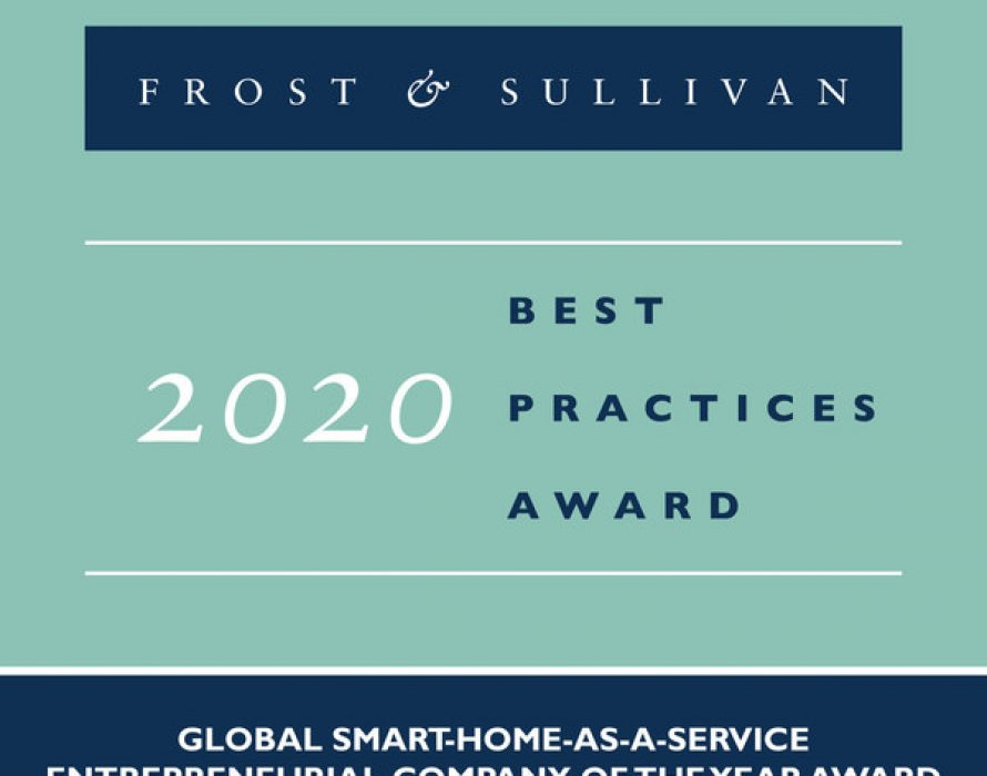 Frost & Sullivan Awards Plume Global Entrepreneurial Company of the Year